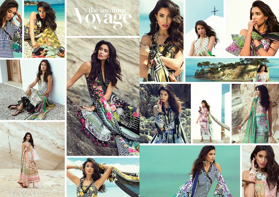 Sapphire Latest Eid Lawn Collection 2017-2018 Trends