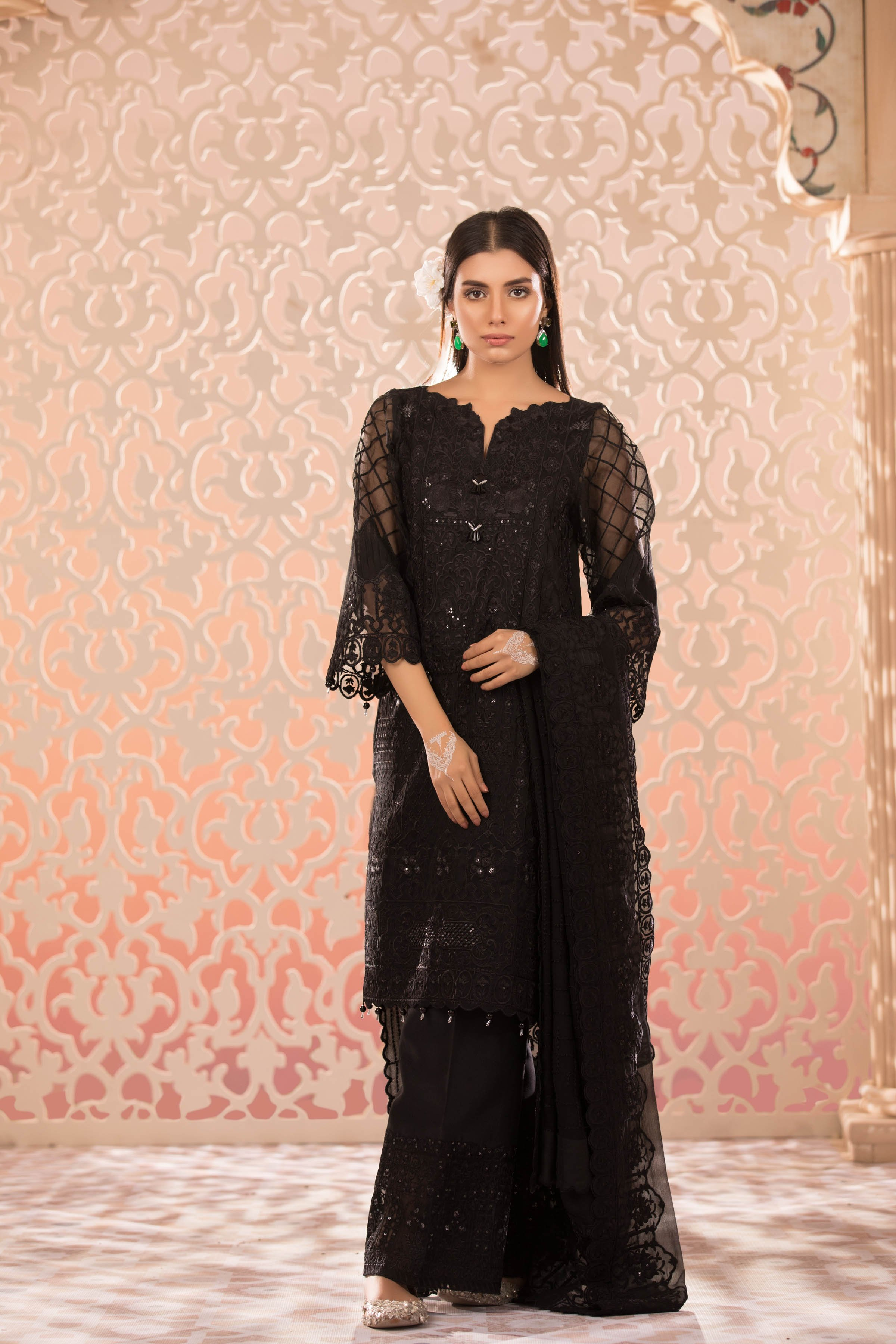 Five Star Classic Lawn Volume 4 Eid Collection 2018 (With ... |Five Star Lawn Eid Collection