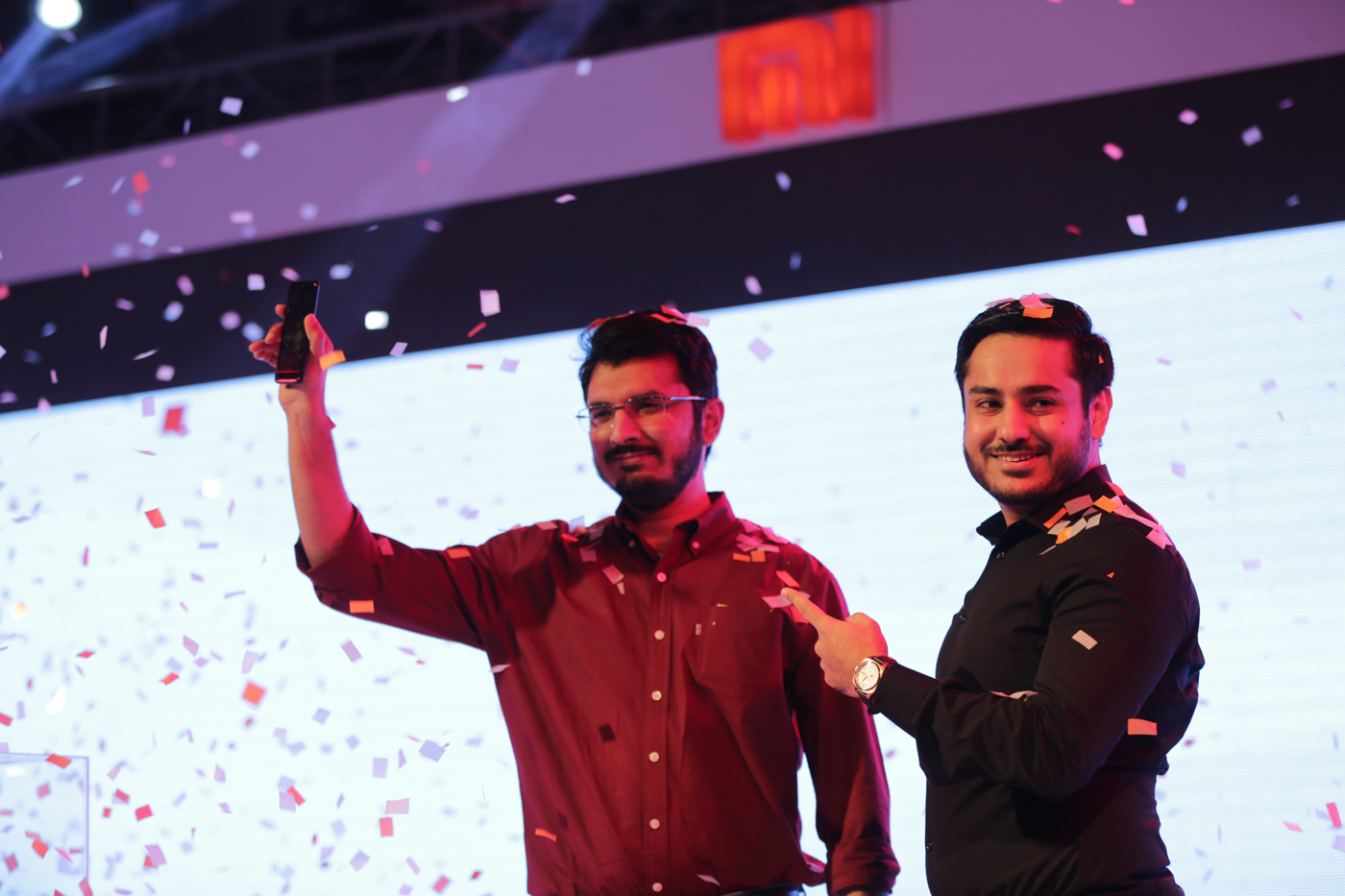 Yasir and Ahmed-Launch Of Redmi 4X in Pakistan- Event by Mooroo & SmarLink Technologies2