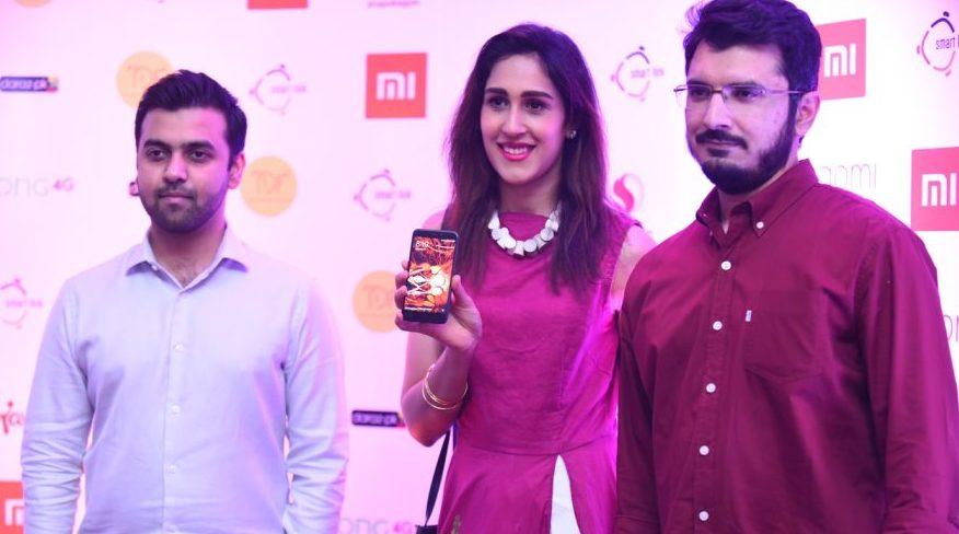 Zain, Mira Sethi and Yasir-Launch Of Redmi 4X in Pakistan- Event by Mooroo & SmarLink Technologies