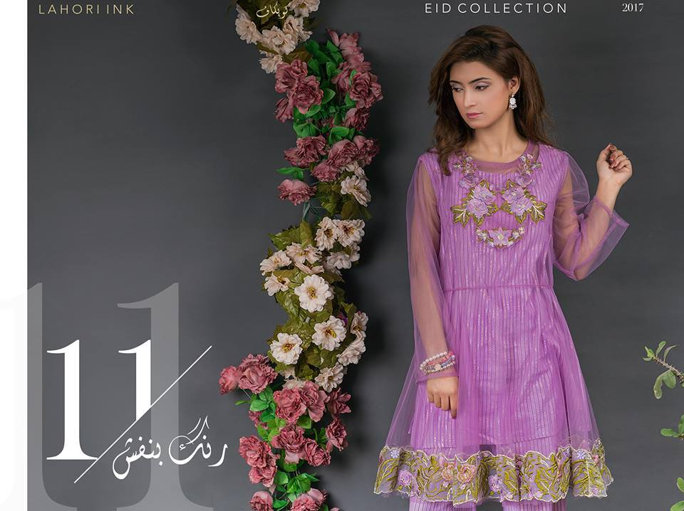 11-Lahori Ink Semi Formal Eid Dresses Designs (2)