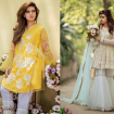 Cute Lahori Ink Semi Formal Eid Dresses Designs Collection 2017-18