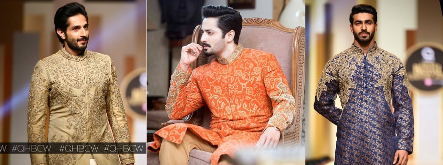 HSY Latest Men Wedding Sherwani Kurtas Collection 2018-2019