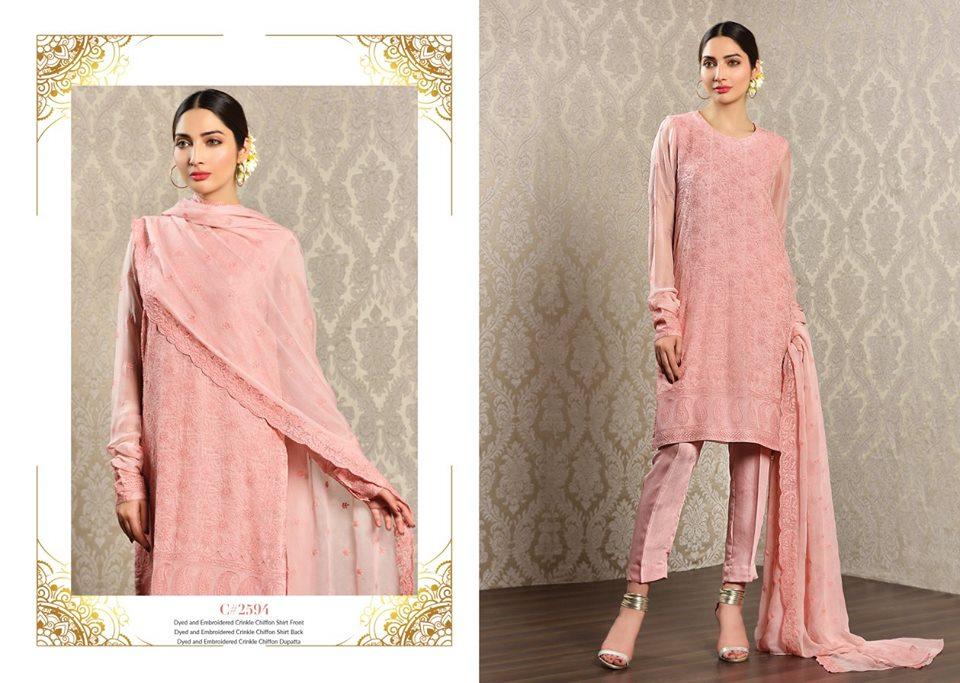 kayseria beautiful fancy eid dresses collection 20192020