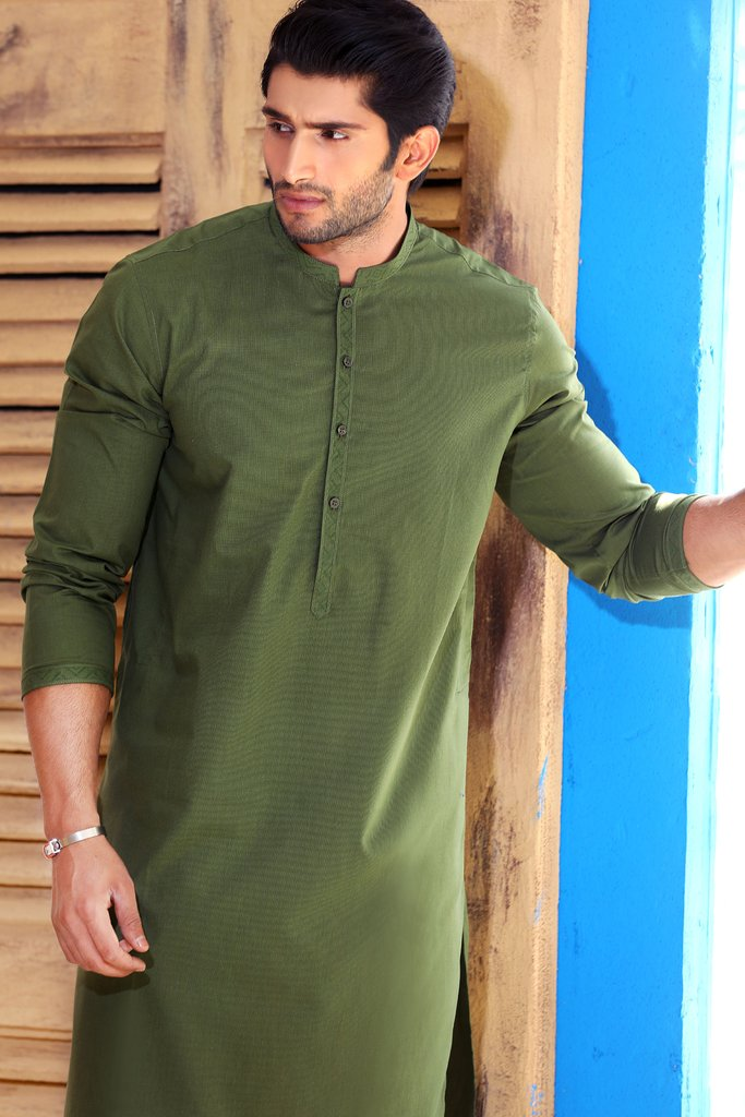 Khas Latest Men Fashion Eid Kurta Designs Collection 2017-18 (16)