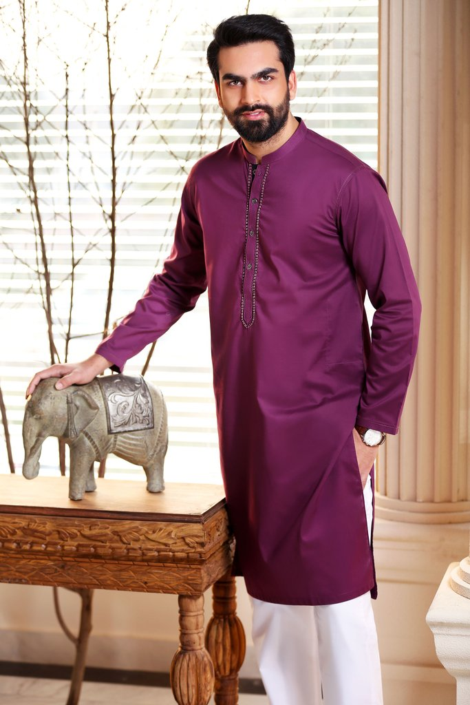 Khas Latest Men Fashion Eid Kurta Designs Collection 2017-18 (17)