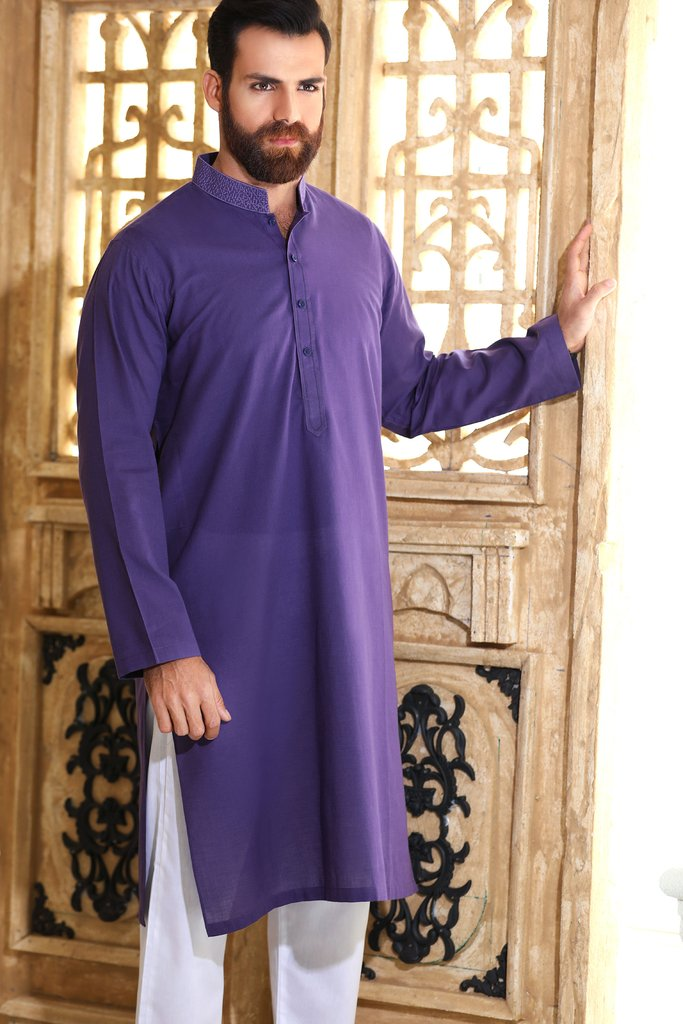 Khas Latest Men Fashion Eid Kurta Designs Collection 2017-18 (18)