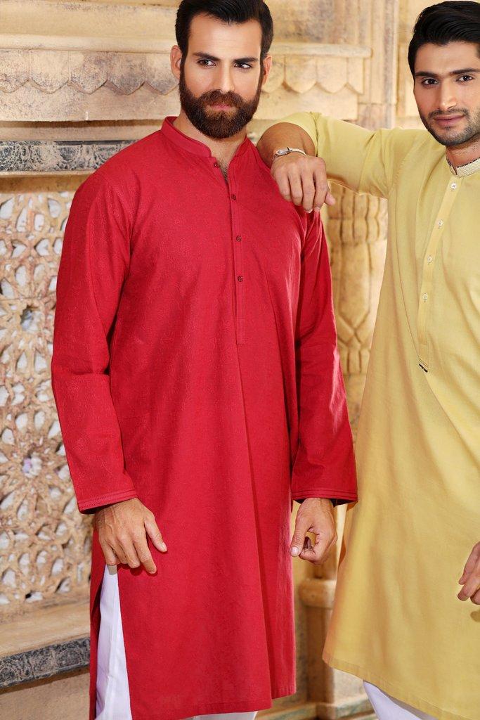 Khas Latest Men Fashion Eid Kurta Designs Collection 2017-18 (19)