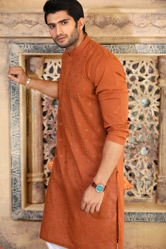 Khas Latest Men Fashion Eid Kurta Designs Collection 2017-18 (20)