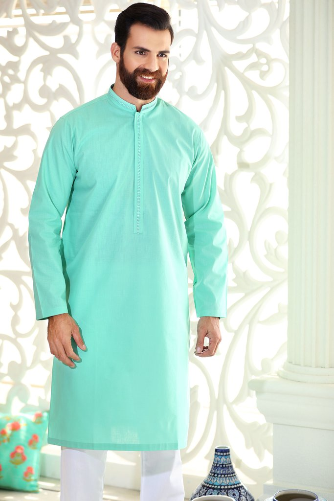Khas Latest Men Fashion Eid Kurta Designs Collection 2017-18 (21)