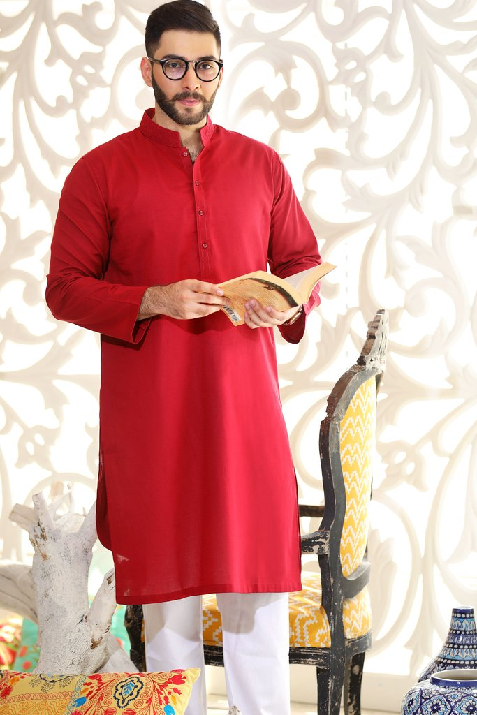 Khas Latest Men Fashion Eid Kurta Designs Collection 2017-18 (22)