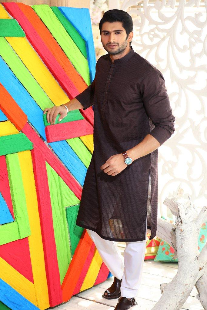 Khas Latest Men Fashion Eid Kurta Designs Collection 2017-18 (23)