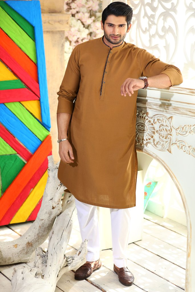 Khas Latest Men Fashion Eid Kurta Designs Collection 2017-18 (25)