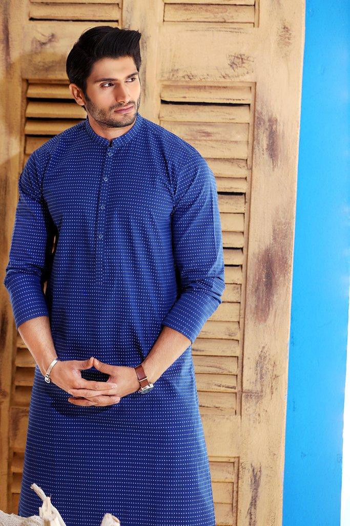 Khas Latest Men Fashion Eid Kurta Designs Collection 2017-18 (26)