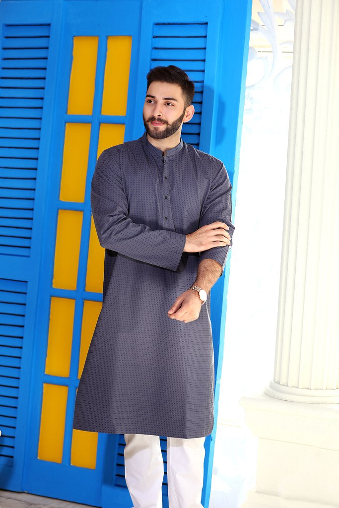 Khas Latest Men Fashion Eid Kurta Designs Collection 2017-18 (28)