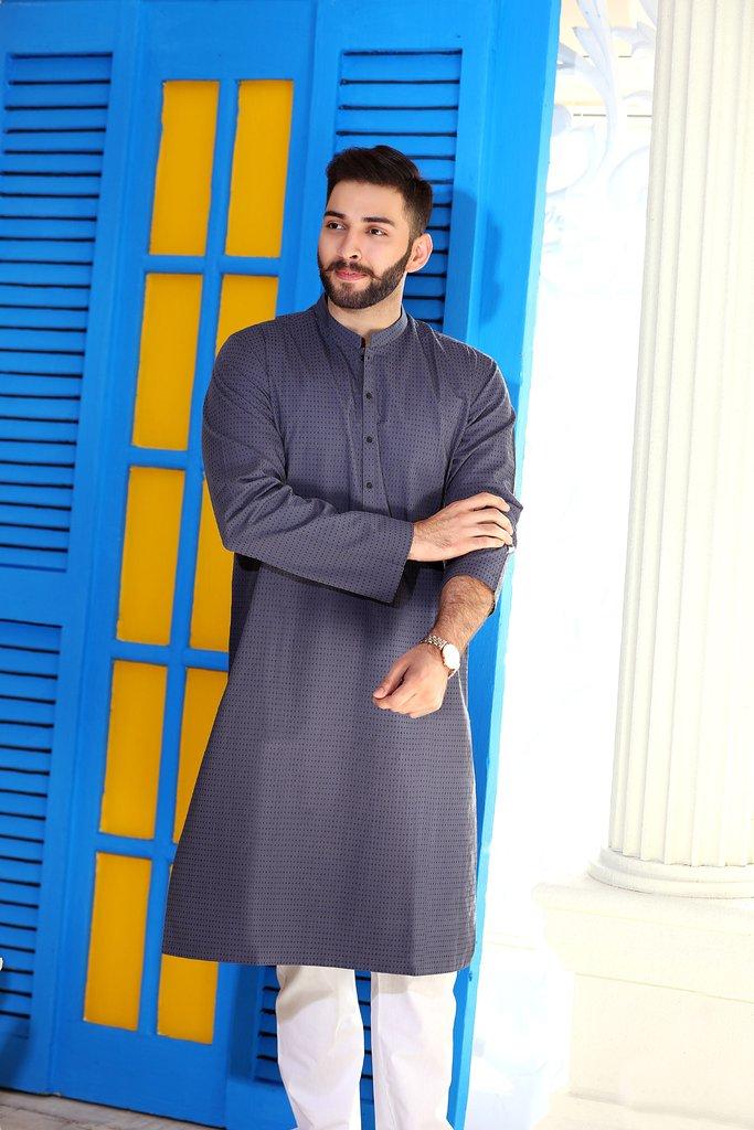 Khas Latest Men Fashion Eid Kurta Designs Collection 2017-18 (28)