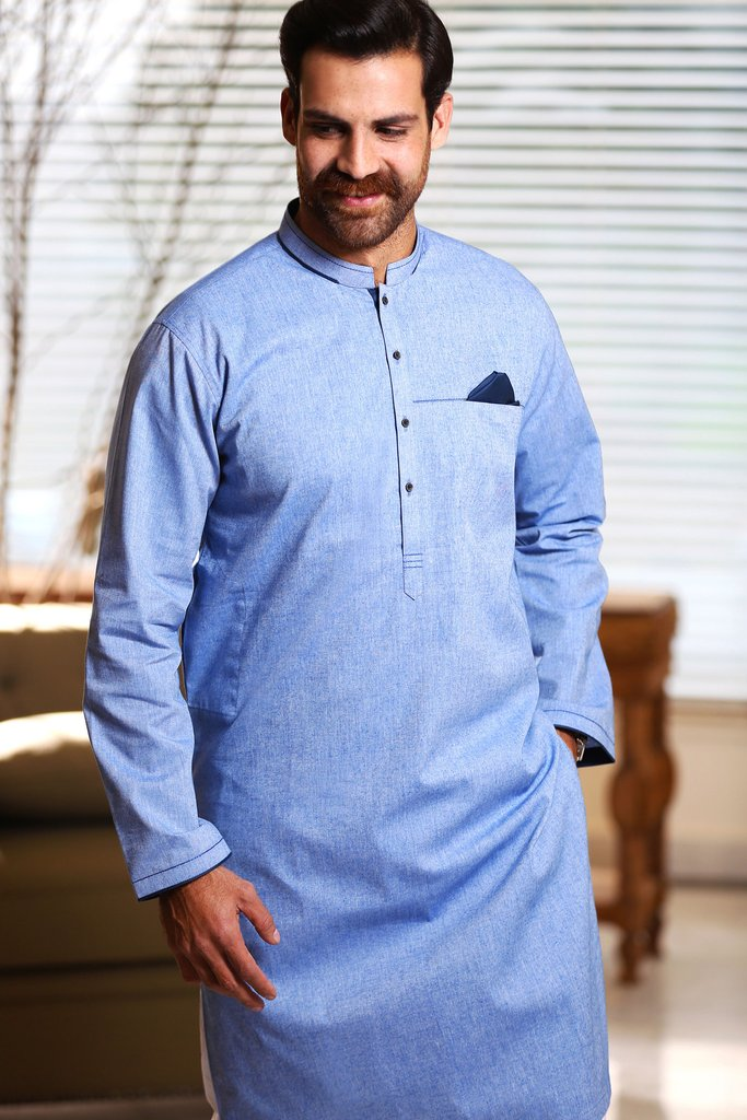 Khas Latest Men Fashion Eid Kurta Designs Collection 2017-18 (29)
