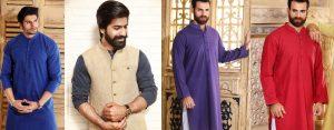 Khas Latest Men Fashion Eid Kurta Shalwar Kameez Collection 2018-19
