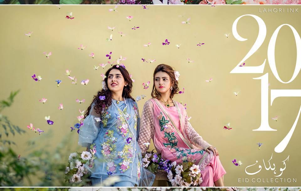 Lahori Ink Semi Formal Eid Dresses Designs