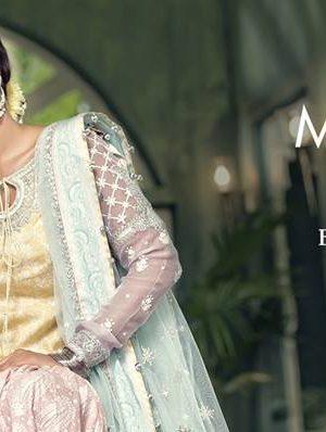 Latest Maria B Eid Lawn Dresses Designs Collection 2018-2019 (7)