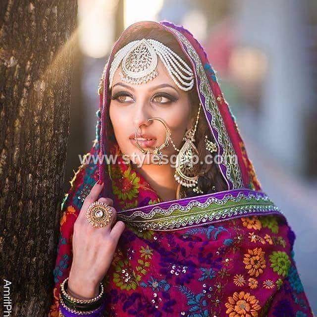 Latest Phulkari Dress Designs Collection Duppatta, Trousers, Jackets (10)
