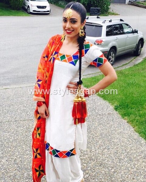 a78fe23f2b Hope you have loved viewing this beautiful and latest phulkari dress  designs collection. Keep following us and get updated with the latest  fashion trends.