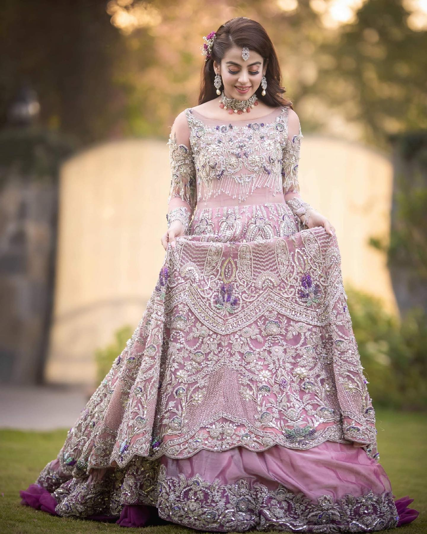 Latest Wedding Formal Maxis Long Tail Dresses Designs
