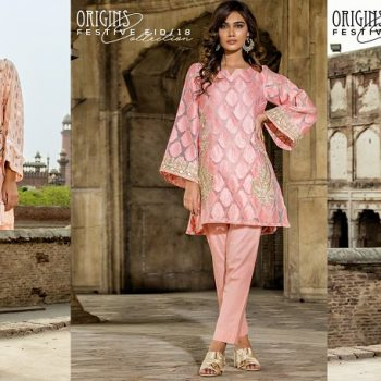 Origins Latest Eid Dresses Festive Collection 2019-2020 for Women