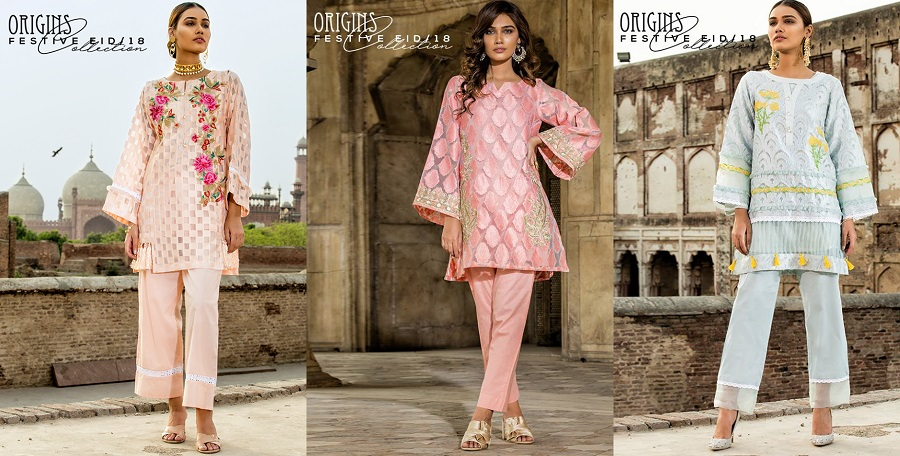 Origins Latest Eid Dresses Festive Collection 2018-2019