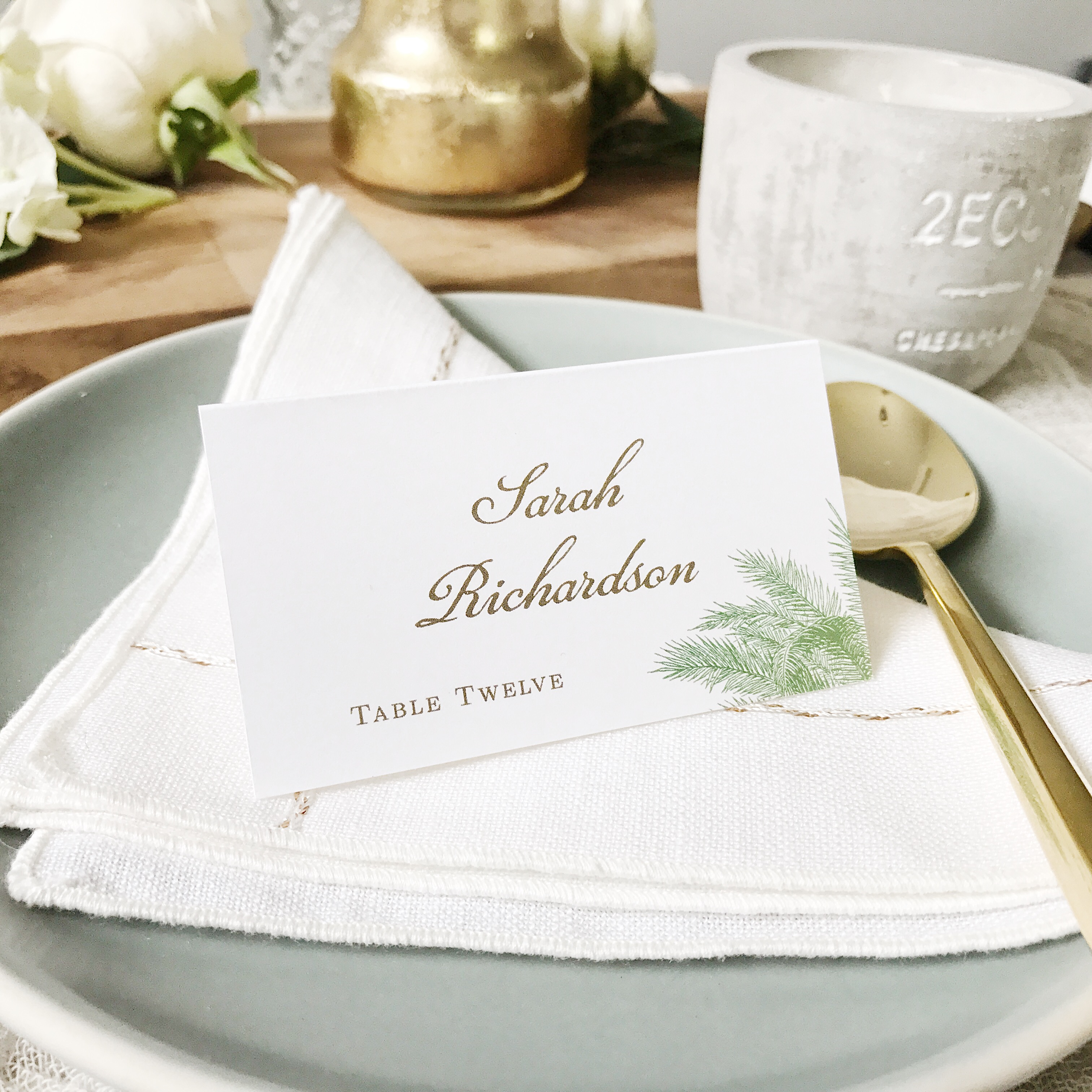 Place Cards The Most Stylish Wedding Invitation Cards To