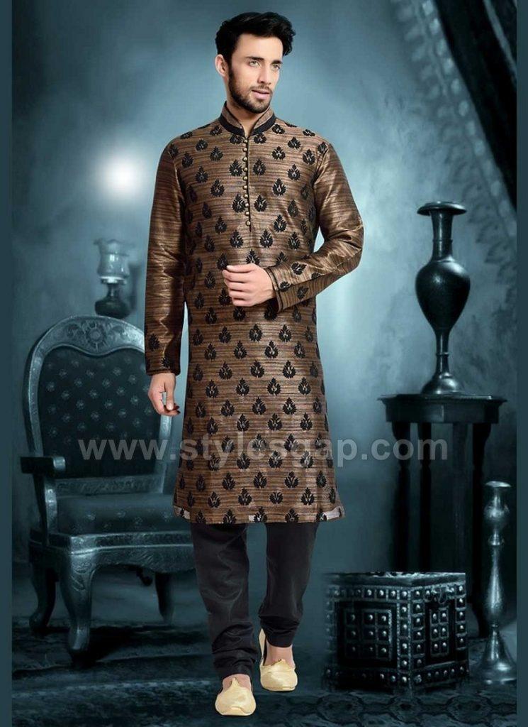 Latest Men Wedding Dresses Mehndi Barat Walima Collection 2018-2019 ...