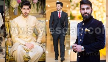 Latest Men Wedding Dresses Mehndi Barat Walima Collection 2017-2018