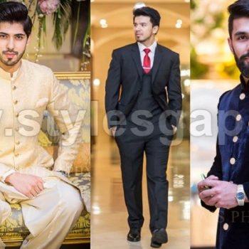 Latest Men Wedding Dresses Mehndi Barat Walima Collection 2021