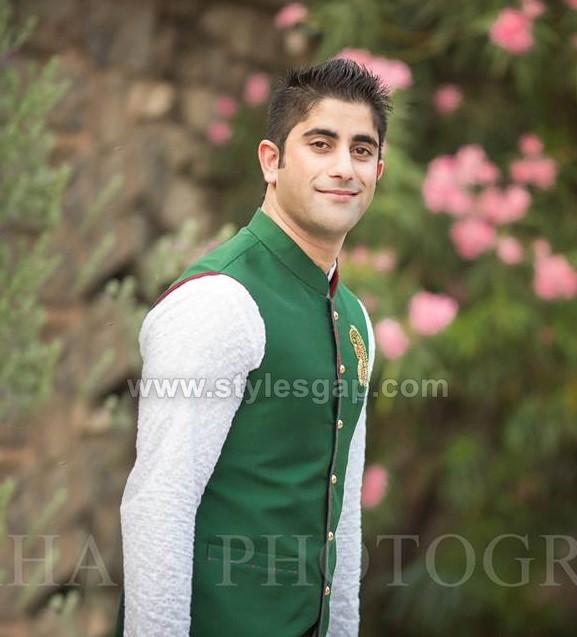 Mehndi Men Dress 2018 : Latest men wedding dresses mehndi barat walima collection