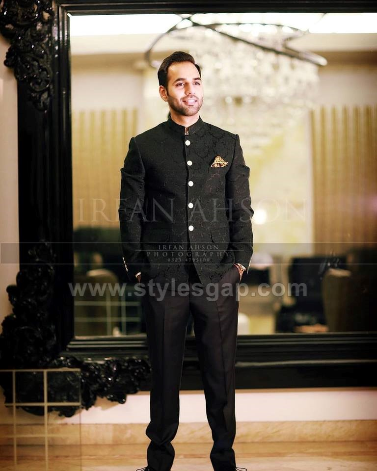 Latest Men Wedding Dresses Mehndi Barat Walima Collection 2018 2019