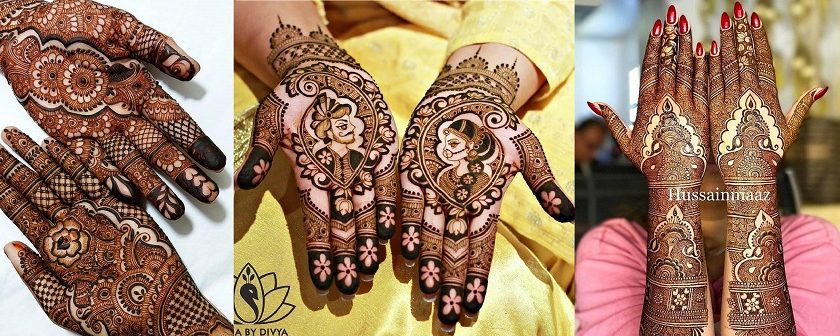 Latest Arabic Mehndi Designs Henna Trends 2017-2018 Collection