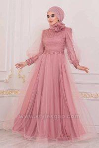 Fancy Party Wear Formal Hijabs Abaya Evening Dresses