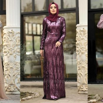 Latest Fancy Party Wear Formal Hijabs Abaya Evening Dresses 2021