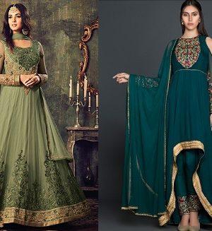 Latest Pakistani Indian Salwar Kameez Designs & Trends