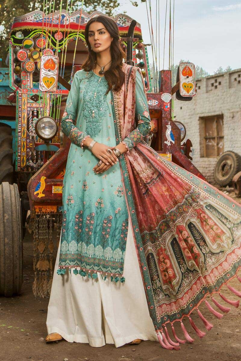 M Prints Maria B Printed Embroidered Lawn Collection 2019 2020