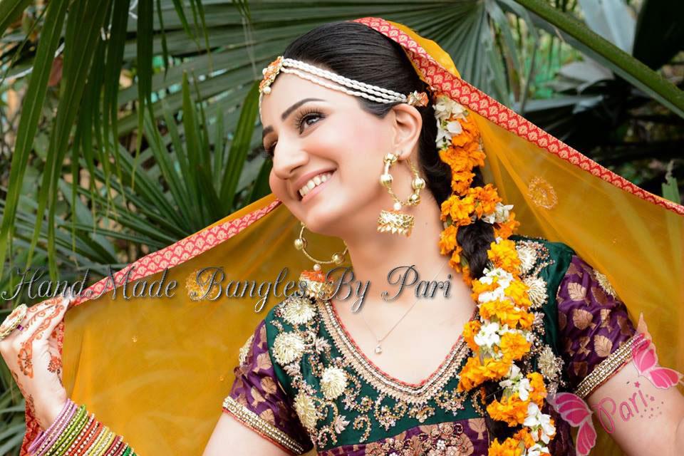 I Mehndi Flower Jewelry : Handmade mayon mehndi jewelry by pari designs collection