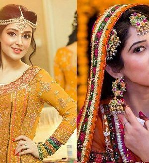 Handmade Mayon Mehndi Jewelry by Pari Designs Collection