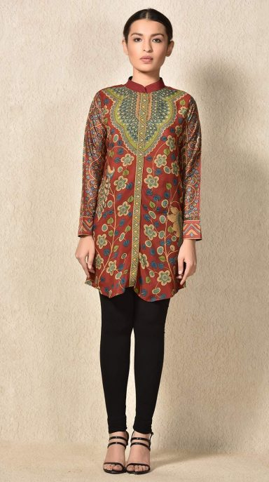 Indian Stylish Tunics Kurtis Ritu Kumar Collection 2018-2019