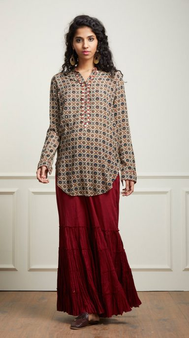 Indian Stylish Tunics Kurtis Ritu Kumar Collection 2019 2020