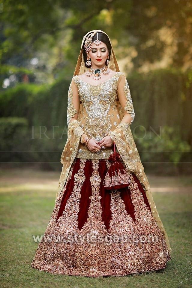 40 Best Designs Pakistani Latest Bridal Lehenga Collection