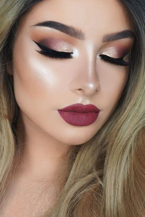 Latest Fall Winter Makeup Trends 2018-19 Beauty Tips- Must ...