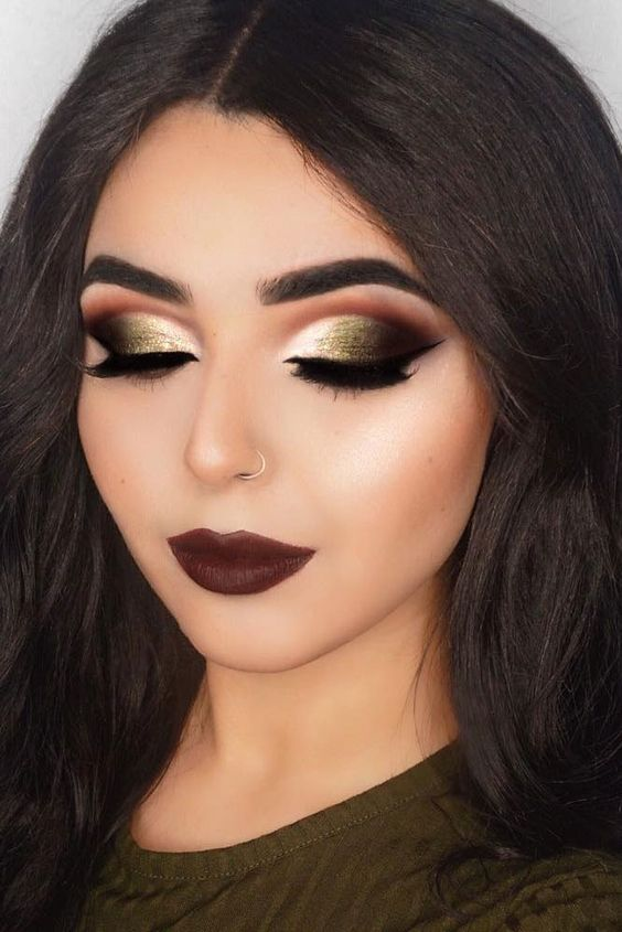 latest fall winter makeup trends 2017 18 beauty tips must have ideas. Black Bedroom Furniture Sets. Home Design Ideas