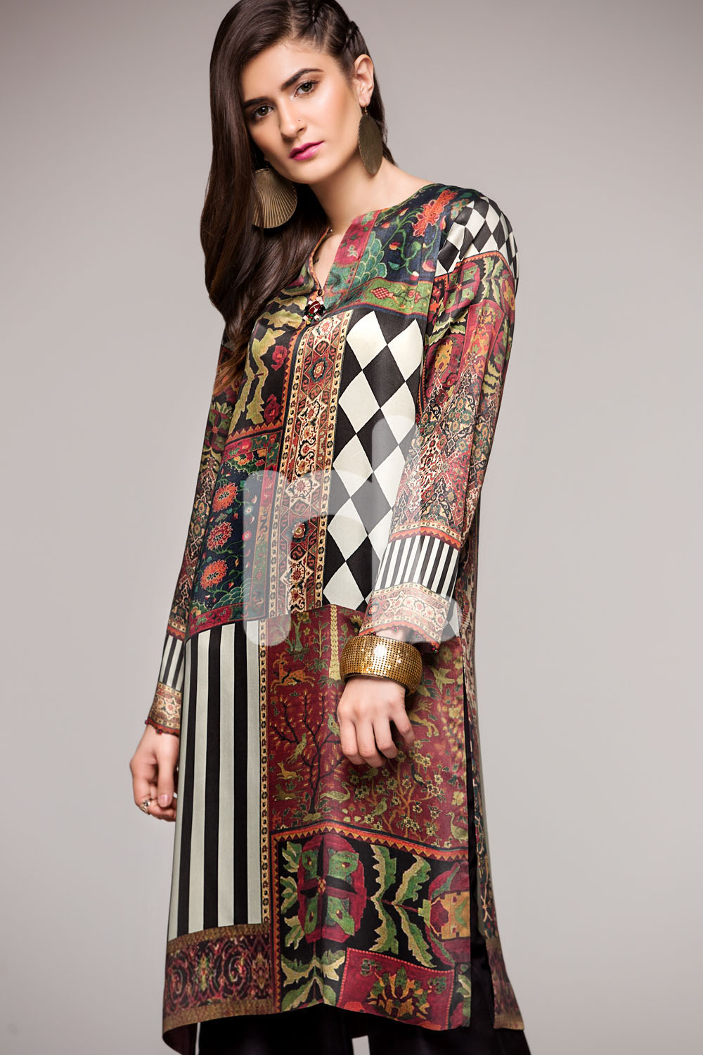 Nishat Linen Winter Dresses Collection 2017-2018 Stitched