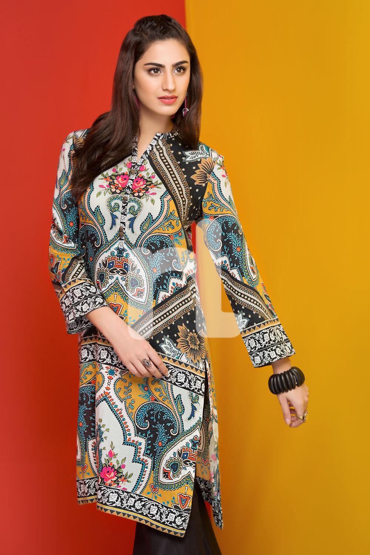 Latest Winter Shirts Designs Nishat Linen Winter Dresses