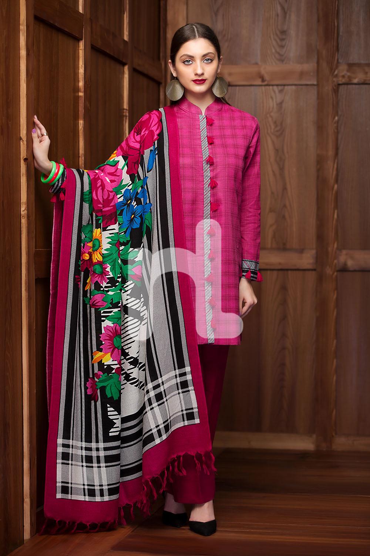 5f002dc10e43 Nishat Linen Winter Dresses Collection 2018-2019 Stitched   Un-stitched